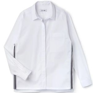 Lacoste Contrast Band Shirt
